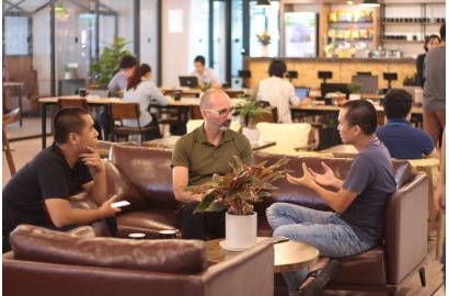 The international coworking space brands massively joined Vietnam market