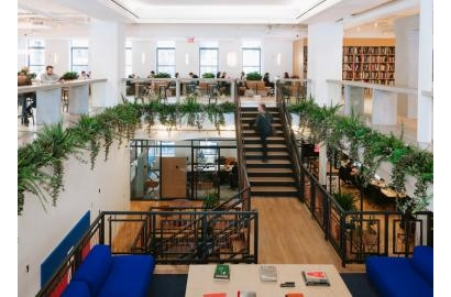 SOFTBANK is considering taking a majority stake in WeWork