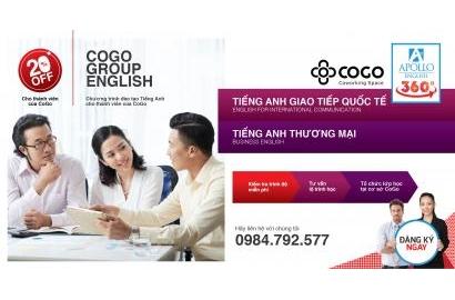 COGO GROUP ENGLISH - CHƯƠNG TRÌNH HỌC TIẾNG ANH DÀNH RIÊNG CHO THÀNH VIÊN CỦA COGO